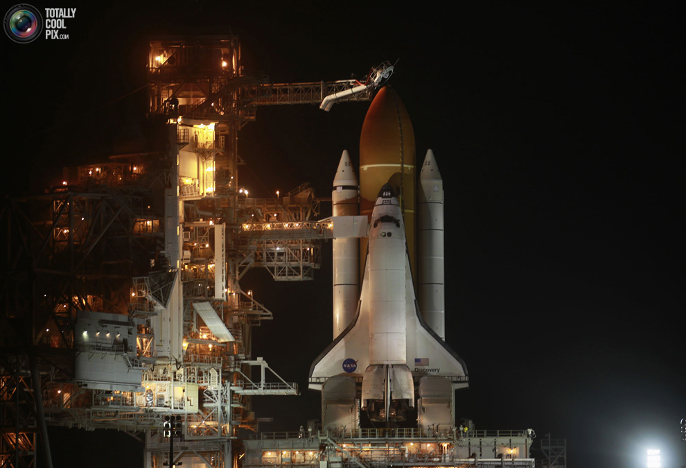 Space Shuttle Discovery's Last Flight