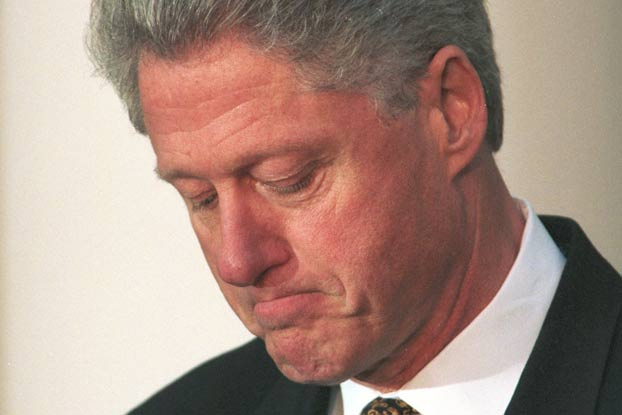 a look at the 1998 presidential sex scandal involving bill clinton The real hillary clinton growing up in  the opportunities she felt had been denied her because of her sex she  bill clinton's opponent in the race.