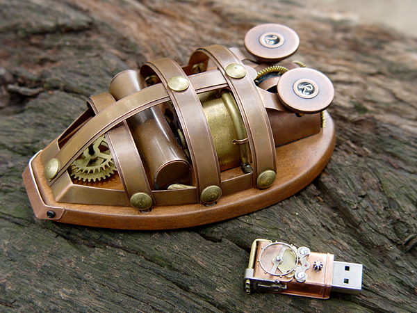 288226b7b8e35d724aa6ba0da66a98aa Coolest Steam Punk Wireless Mouse