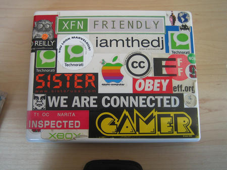 Xfn in Laptop Sleeves, Skins and Stickers