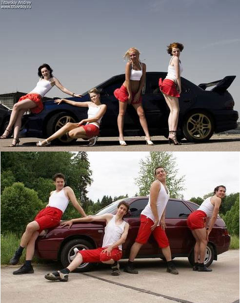 This is Why Girls Always Appear on Car Ads