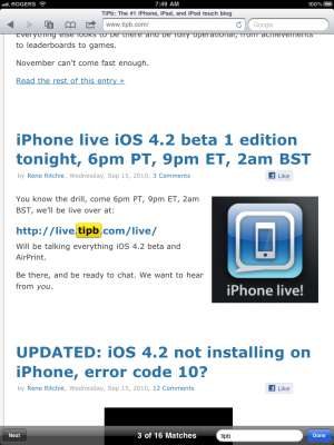 31eb5f017d0e52ed0f92398329531602 New Features Apple iOS4.2   A Review