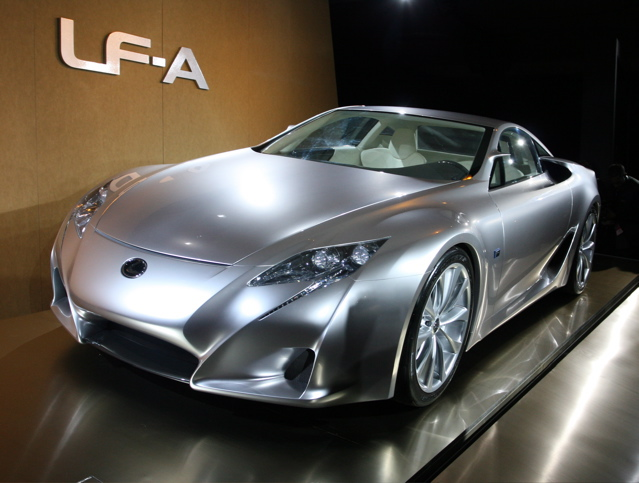 The LF A Sports Car Concept Was Originally Shown At The 2005 NAIAS To  Express A Bold New Direction In Styling For The Lexus Brand.