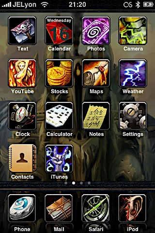 4a95694b1fbdc13eb9b8c190c2836368 Complete List of Winterboard Themes with Images for iPhone