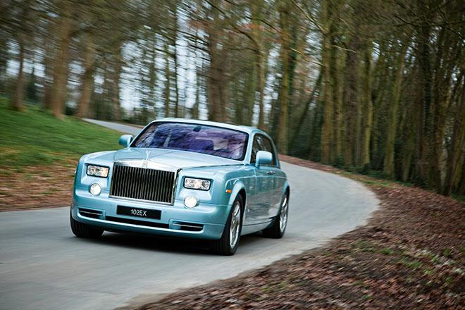 Rolls-Royce super luxe 102EX