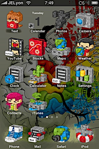 59d1f0256c2378e38accac286343e250 Complete List of Winterboard Themes with Images for iPhone