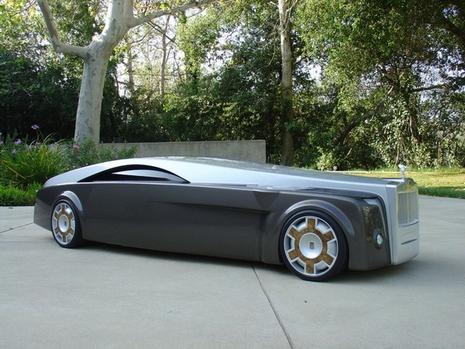 Rolls Royce Launches 24 Feet Long Concept Car