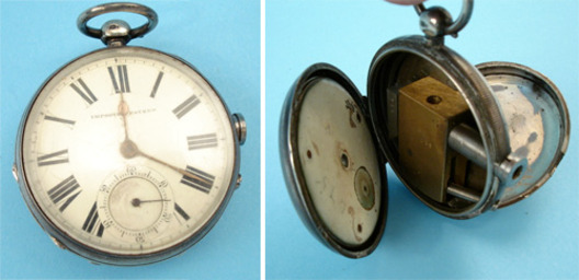Pocketwatch Gun