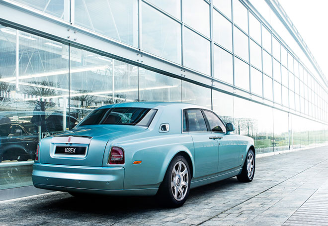 Rolls-Royce 102EX Phantom Experimental Electric
