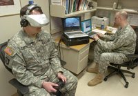 6ef37fb7fd6d626492c60093c03cd82a Virtual Reality Treatment for Military Troops [video]