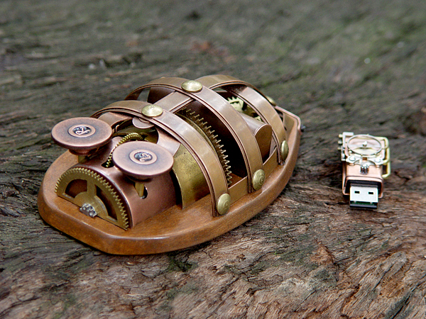 steampunk mouse