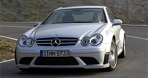 Mercedes-Benz 2008 CLK-class CLK63 AMG Black SeriesFast formula: The ballistic CLK63 'Black Series' is based on the F1 safety car.