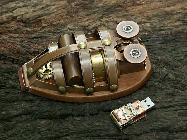 850cd848db95fd9178080fcd6ea1d17a Coolest Steam Punk Wireless Mouse