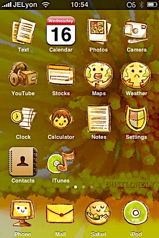 8bcc00de0780ac811dc87b11db093cdf Complete List of Winterboard Themes with Images for iPhone