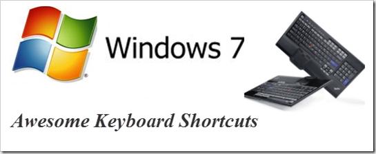 Killer Keyboard Shortcuts for Windows 7