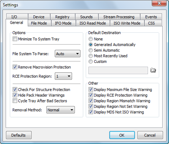Removing DVD Protection