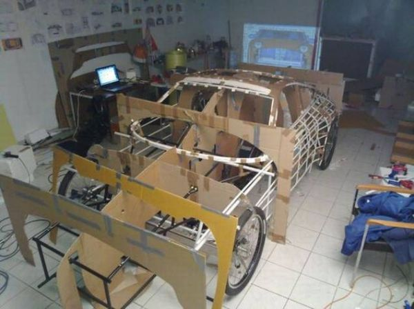 a78112d08d37a699b0e2d0e5ca685fab Guy Makes Porsche Car Out of Bicycle