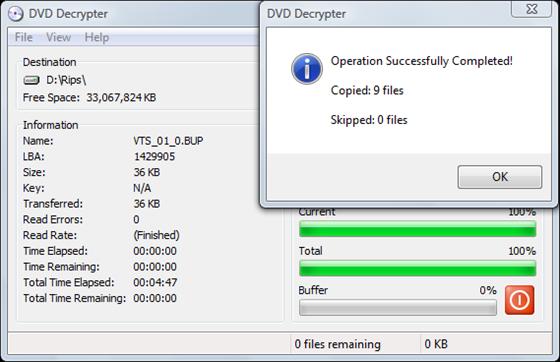Ripping DVD