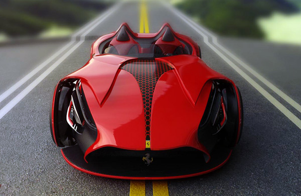 acabac66faf23759efc6c6e1ab99f7dc What If An Electric Ferrari