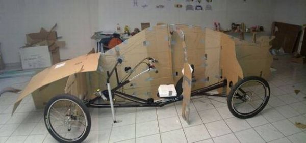 b3fe00663889fb5aa14657fb2a1b1c28 Guy Makes Porsche Car Out of Bicycle