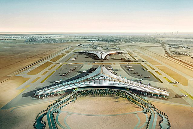 c0a17930f1523399cd497add6a622af9 The New Kuwait Airport in Photos & Video