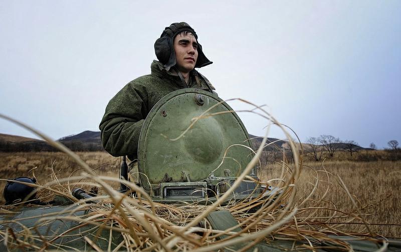 c713e95f0bc4e7d3af6969d76f3f558e In Pictures The Russian Howitzer Practice Shoot