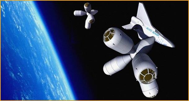 Galactic Suite suborbital hotel