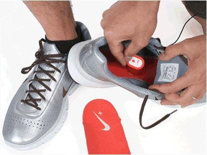 IPOD shoe kit by Nike