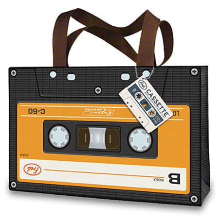 Cassette Tote in Laptop Sleeves, Skins and Stickers