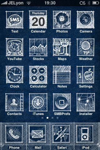 e690a55e4924767b9de31e98b6c78d0a Complete List of Winterboard Themes with Images for iPhone