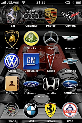 fbc600311dfee5e077a220eea47f1197 Complete List of Winterboard Themes with Images for iPhone